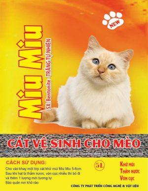 Cát vệ sinh dành cho mèo giá rẻ Hà Nội