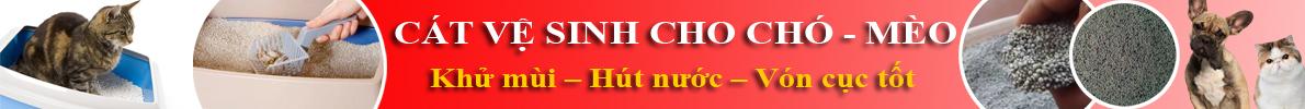 banner Cát Vệ Sinh Cho Chó Mèo