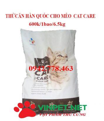 THỨC ĂN CHO MÈO CAT CARE