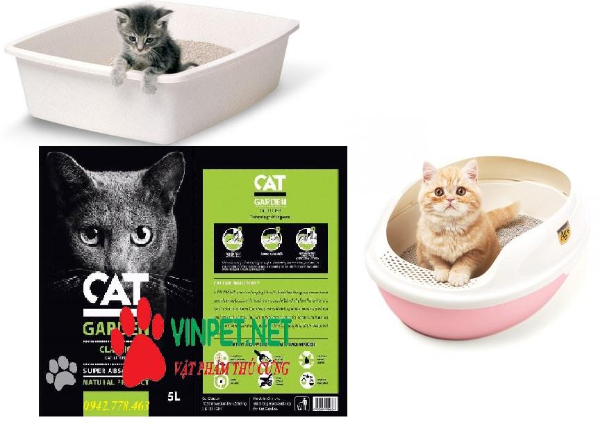 C%C3%81T V%E1%BB%86 SINH CHO M%C3%88O GARDEN - Cát vệ sinh cho mèo graden chính hãng bán ở thanh xuân