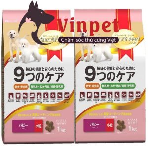 THUC AN CHO CHÓ NHỎ SMARTHEART GOLD PUPY 1KG 300x296 - Điểm danh những loại thức ăn cho chó poodle?